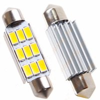 Wholesale Led Error Free 36mm - 100PCS 42mm 9SMD 5630 5730 smd C5W C10W CANBUS Error Free car Festoon Dome Lights reading Lamps bulbs 12V wholesale