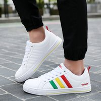 Wholesale Korean Style Running Shoes - New Summer fashion wear wild casual shoes Korean style lace breathable men's canvas sports jogging shoes running designer sneakers