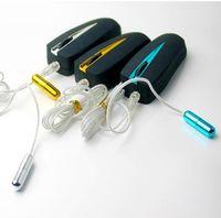 vibrador masculino de sexo uretral al por mayor-Kits de sexo masculino, Electro Shock Catheters Sonidos Vibrador, Uretral Plug vibrante del pene, productos del sexo para hombres pene, juguetes sexuales a la venta