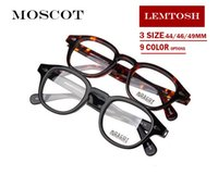 Wholesale Designed Eyeglasses - Moscot 1915 glasses Brand design 44 46 49mm Lemtosh johnny depp glasses Top Quality AAAAA+ round eyeglasses frames 1915 with original case