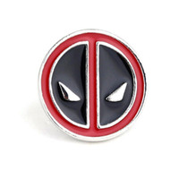 Wholesale middle child - cute alloy party children Anime Cartoon Deadpool Brooches Deadpool mask pin Deadpool mask Brooch pins Corsage Thorn 2018 xz054