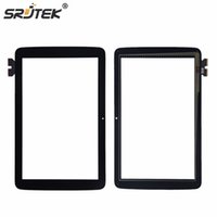 Wholesale tablet replacement screen online - Srjtek quot For LG G Pad V700 VK700 Touch Screen Digitizer Sensor Glass Panel Tablet PC Replacement Parts