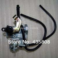 Wholesale Motorcycle Engine Carburetor - PZ19A Carburetor 19mm (Oil switch ) cable choke for Dirt bike ATV motorcycle with 50cc 70cc 110cc Engine