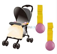 Wholesale Baby Quilt Clips - Hot Selling! Durable Baby Stroller Quilt Blanket Clip Strap Holders 2pcs set New and Free Shipping