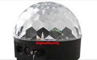 Wholesale magic balls disco dmx online - LED Channel DMX512 Control Digital LED RGB Crystal Magic Ball Effect Light DMX Disco DJ Stage party Lighting