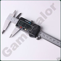 "Wholesale Digital Vernier Caliper Widescreen - 6"" 150 mm Digital Vernier Caliper Micrometer Guage Widescreen Electronic Accurately Measuring Stainless Steel Free Shipping"