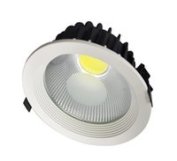 Wholesale 8pcs Bedding - Factory Hot sale 8pcs lot 20W Led Downlight COB Ceiling Spot Light recessed Down Lights Warm Cool White Indoor Lighting AC85-265V