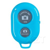 Wholesale Timer Camera Remote Control Wireless - Bluetooth Wireless Remote shutter Camera Phone Selfie Stick Shutter Self-timer Timer Remote Control for IOS Andriod Freeshipping