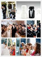 Wholesale Groom Wedding Bubble - DHL Bride Groom Wedding Bubble bottle 48PCS Lot soap water bottle weddings party decoration
