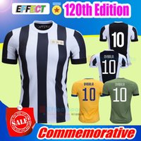 Wholesale Buffon Jerseys - TOP 120th Anniversary Edition Soccer jersey 2017 2018 Buffon MARCHISIO DYBALA HIGUAIN DANI ALVES 120 Commemorative Serie A Football shirt