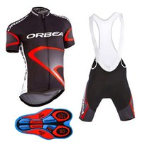 Wholesale orbea shirt - outdoor sports orbea road sportswear mens clothing cycle wear skinsuitteam bike bicycle Cycling Jerseys shirt +bibs shorts sets