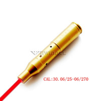 CAL: 30,06 / 25-06 / 270 taktischer Rot-Laser-Anblick Cartridge Bore Sighter Boresighter Jagd 1pc