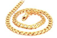 "Wholesale Men Heavy Gold Chain - Wholesale - NEW sun Heavy 40G Classic men women 18k solid gold GF necklace chain 23.6"""