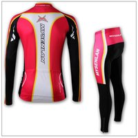 Wholesale Mysenlan Cycling - Wholesale-Free Shipping Hot MYSENLAN women cycling jersey outdoor sport riding set Long Sleeve Cycling clothing