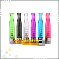 Wholesale Ce4 Bottom Coil Clearomizer - Vaporizer 7 Colors Clearomizer GS H2 Atomizer with Rebuildable Bottom Coil PK CE4 Atomizer