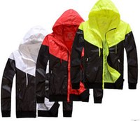 Wholesale Womens Turtle Necks - Fashion Womens Baseball Jacket College Casual Sport Varsity Coat Sports Jackets Windbreaker Pocket Zips into Bag Jacket COAT SIZE Large
