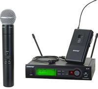 microfone de qualidade sem fio venda por atacado-Microfone Sem Fio de alta qualidade Com Melhor Áudio e Som Claro Desempenho da Engrenagem Microfone Sem Fio DHL Frete Grátis