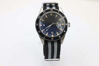 Wholesale Transparent Back Dresses - Limited Edition Automatic Chronometer Men's Wristwatch Spectre Master 300 Fluted Bezel Transparent Glass Back Co-Axial Fabraic Belt Watch
