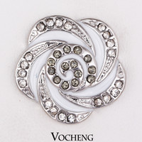 Wholesale Noosa Chunks Wholesale - Vocheng Noosa Amsterdam Chunks Clasps Snaps Jewelry DIY Jewelry Accessory Adornment Set (Vn-050)