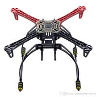dörtlü çerçeveler toptan satış-[PANSEN] F450 Çok Helikopter Quadcopter Raf Kiti Çerçeve Iniş takımı Koruma Kapağı QuadX Quad + KK MK MWC
