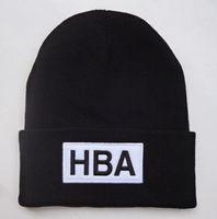 Wholesale Cap Hat Air - HBA Beanie Hat Hood By Air Beanies Hats Popular Warm Winter Knit Cap Men Women Skull Caps
