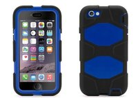 Wholesale Military Duty Case Retail - Cell Phone Cases Military Duty Hard Plastic Silicone Case Cover with Screen Film Protector for iPhone 7 Plus iphone 6S with Retail box