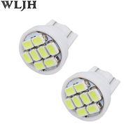 Wholesale Power Wedge - T10 168 194 1206 8 SMD LED Light bulbs Indication Lights Wedge Lamp Bulb 12V High Power Side Marker Light Interior Car Lights