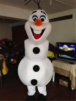 Wholesale Snow White Adult Cartoon - Snowman Costume Snow Man Mascot Costume Snowman Cartoon Mascot Costume Snowman Mascot Adult Size Free Shipping