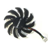 gráficos de fã gigabyte venda por atacado-Venda por atacado - Ventilador da placa de vídeo Ventilador da placa de vídeo VGA Cooler Para GIGABYTE GTX970 GTX 970 placa gráfica de arrefecimento