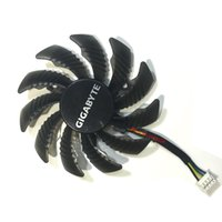 Wholesale Vga Amd - Wholesale- Video Card Fan VGA Cooler Video Card Fan For GIGABYTE GTX970 GTX 970 graphics card cooling