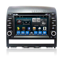 Wholesale Capacitive Touchscreen Android Car Gps - Android 4.4 car dvd stereo capacitive touchscreen with radio rds wifi 3g audio cd player for Fiat Plio