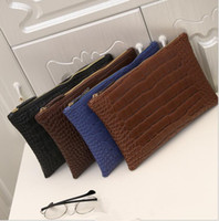 Wholesale Envelope Wallets - leather women envelope bag clutch evening bag crocodile grain women's clutch bag female Clutches Handbag Wallet KKA3292