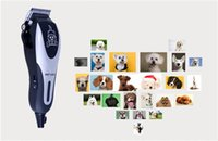 Wholesale Electric Pet Clipper - 28w with cord professional pet hair clipper for dog or cat hair cutting tool pet grooming tool trimmer