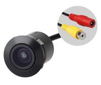 kamera açısı görüntüsü toptan satış-Su geçirmez 170 Açı PAL / NTSC Renkli CMOS Araba Dikiz Ters Yedekleme Park Kamera E305
