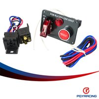 Wholesale Electronic Panels - PQY STORE-Racing Car Electronics One Switch Kit Panel Engine Start Button toggle with accessory PQY-QT312