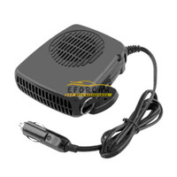 Wholesale 12v defroster fan - 12V 200W Auto Car Vehicle Portable Dryer Heater Heating Cooler Fan Demister Defroster 2 in 1 Warm Hot Cold