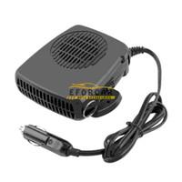 coche refrigerador ventilador auto al por mayor-12V 200W Auto Car Vehicle Secador portátil Calentador de calefacción Enfriador Demister Defroster 2 en 1 Caliente / Caliente Frío