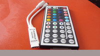 Wholesale Dc 5v 6a - Mini RGB LED Controller with 44 keys Remote controller for SMD 5050 3528 RGB Led Strip Light DC -5V~24V 6A