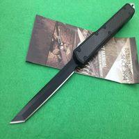 Wholesale Aluminum Technology - Hot Mi Technology Makora II 106-1 St ants II Genera Hunting Folding Pocket Knife Survival Knife Xmas gift Benchmad 1pcs freeshipping