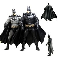 ArielBaby New 1 PCS DC Universe Batman film The Dark Knight Returns action Marvel Arkham City Superhero Figure Toy Robot Collection 18cm