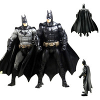 Wholesale Dc Superheroes Action Figures - ArielBaby New 1 PCS DC Universe Batman Movie The Dark Knight Returns Marvel Arkham City Superhero Action Figure Toy Robot Collection 18cm