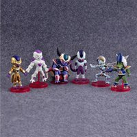 Wholesale F Videos - Anime Dragon Ball Z Figure F Frieze Brinquedos Juguetes PVC Figurine Collection Model Children's Toys 6 pcs   set.