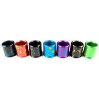 Wholesale Ego Camouflage - Camouflage Colouful Metal aluminum Drip Tips eGo 510 Drip Tips for Vaporizer mechanical Electronic Cigarette Atomizer Vaporizer 2015 Hot