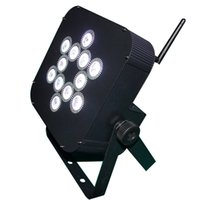 libero di trasporto LED della luce della fase 12X15W RGBAW UV 6in1 a batteria uplights wireless LED per Wedding