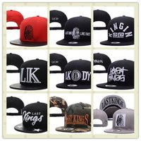 Wholesale Snap Backs King - Last Kings Snapback Hat Thousands Snap Back Football Hat For Men Summer Baseball Cap,Last Kings Hip Hop Hat Adjustable Women Basketball Hats