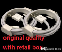 Wholesale 2m Cord - Micro USB Charger Cable Original Quality OEM 1M 3Ft 2M 6FT Sync Data Cable Cords With Retail Box For Phone Samsung S6 S7 Edge Note 4 5 6 7
