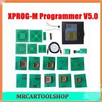 Wholesale Ship Tunning - Free Shipping best quality New Metal Model XPROG-M xprog, xprog m Programmer V5.0 ECU Chip Tunning XPROG-M Programmer V5.0