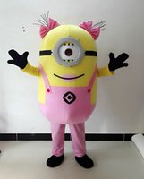 Wholesale Adult Mascot Costume Sexy Woman - Sexy image of latest products 100% women minion costume mascot stores Adults are free shipping