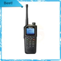 Wholesale-2unit / Los Freie Verschiffen Matrix True Color Display-Kirisun DP770 Analog-Digital-Walkie-Talkie V151-162MHz DMR tragbare GPS-Radio
