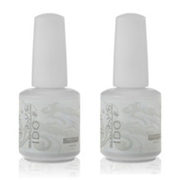 Wholesale Ido Nail Polish - Wholesale-IDO 15ml Soak Off UV LED Nail Gel Polish Foundation Base Coat and Top Coat Top it Off